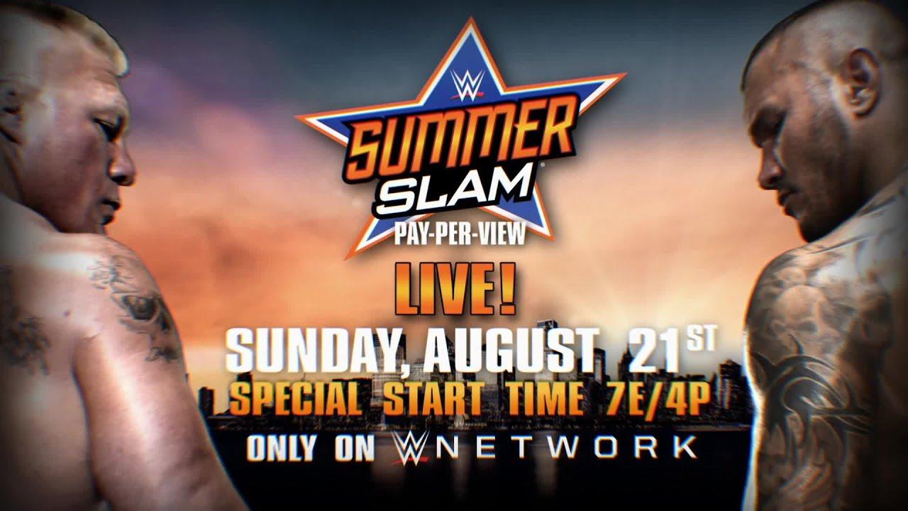 wwe summerslam 2016 results wrestling inc