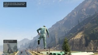 GTA V New Cheat Codes : Moon Gravity, Super Jump, Superman