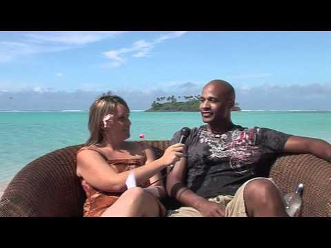 Cook Islands - Island Talk TV - Harlem Globetrotter
