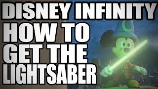 Disney Infinty: How To Get The LIGHTSABER