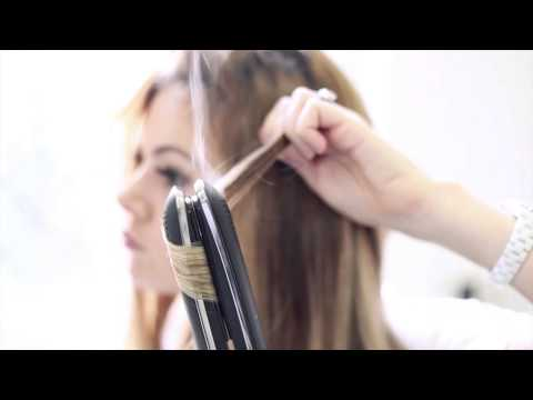 How to do beachy waves with the GHD styler