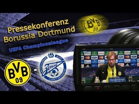 Borussia Dortmund - Zenit St Petersburg  1 : 2  - Pk mit Jürgen Klopp