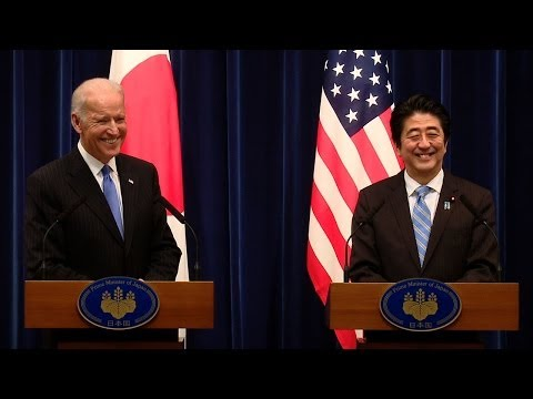 Joint Statement to the Press with Vice President Joe Biden and Prime Minister Shinzo Abe