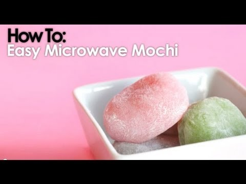 Microwave Mochi In Less Than 10 Minutes - YouTube