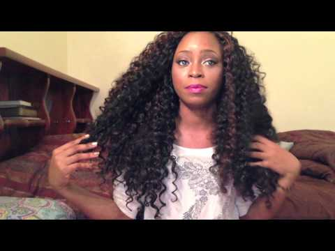 Freetress Crochet Hair Youtube : Hair Review- Crochet braids with freetress gogo curl - YouTube