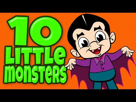 Halloween Songs for Children - Ten Little Monsters - Kids Songs by The Learning Station