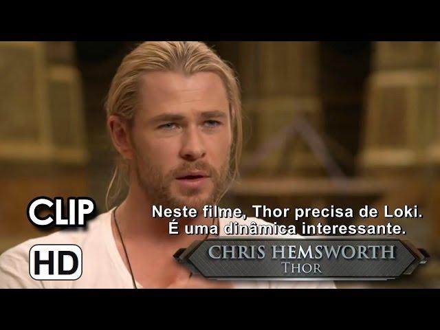 """Thor: O Mundo Sombrio Clip """"O retorno de Loki""""  (2013)"""