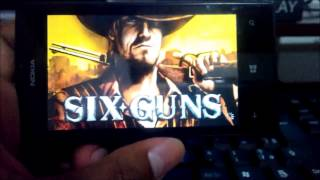 Gameplay Six-Guns No Lumia 520