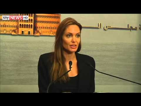 Angelina Jolie Meets Syrian Refugees In Lebanon