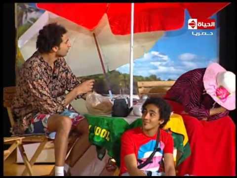 تياترو مصر - رد كوميدي من الزوج  لما مراته تطلب شراء المايوه الشرعي عشان تنزل البحر