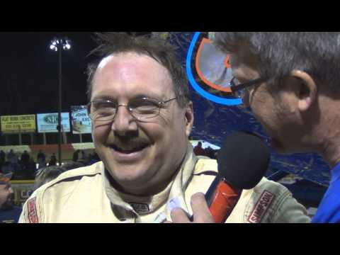 Lincoln Speedway Super Sportsman Victory Lane 4-12-14
