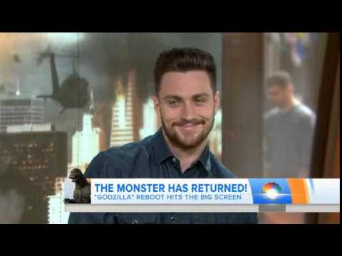 Aaron Taylor-Johnson on The Today Show (May 6, 2014)