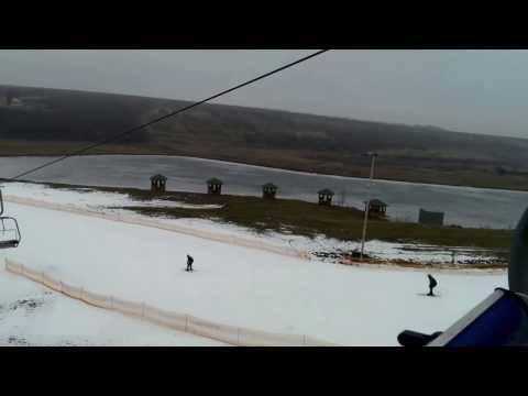 Горнолыжный курорт Водяники спуск и подъём 1