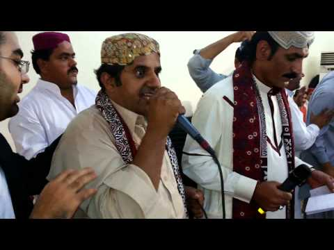 Sindhi Culture (Ajrak & Topi) day on 20/12/2013 at Saudi Arabia Jeddah