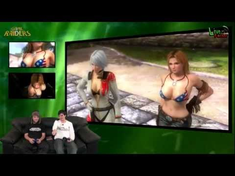 Game Raiders -- Episodio 32 -- Dead or Alive 5 - www.livefactor.cl