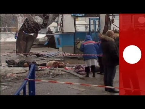 GRAPHIC: Video of blast scene after second bomb attack in Russia's Volgograd