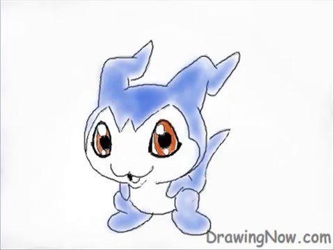 How To Draw Digimon - Demiveemon, Original Tutorial : http://www.drawingnow.com/videos/id_6070-how-to-draw-digimon-demiveemon.html