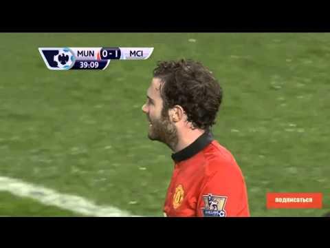 Manchester United-Manchester City 0-3.ОБЗОР МАТЧА, 26.03.2014 28 й тур