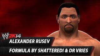 WWE 2K14: Alexander Rusev CAW Formula By Shattered