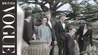 "Vogue August 2014 ""On Set With The Cast Of The Riot Club"