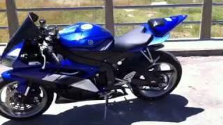 Yamaha R6 2009 Escape Libre