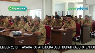 Kegiatan Rapat Kerja Perangkat Daerah Kab. Kapuas Hulu Tahun 2018
