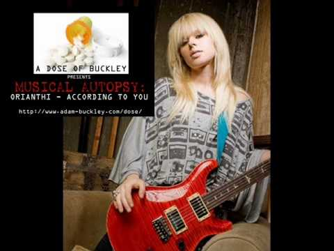 Musical Autopsy: Orianthi - According to You