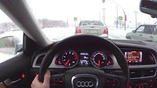 2009 Audi A5 2.0TFSI Quattro POV Test Drive. MegaRetr