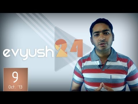 9-10-2013 [evyush24] HTC sends One Max launch invites, YouTube considered on Indian DTH service