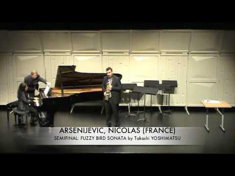 ARSENIJEVIC, NICOLAS (FRANCE) Fuzzy Bird Sonata By Yoshimatsu