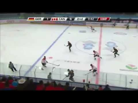 Canada- Germany - 2013 World Junior Hockey Championship Highlights