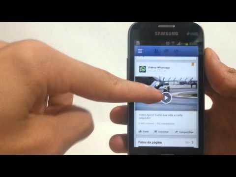 Como baixar vídeos do Facebook pelo Android