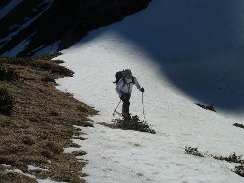 Ascensión y descenso con esquís del Pic de Monfaucon