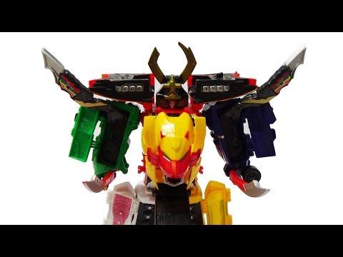 Robot siêu nhân hải tặc đầu sư tử biến hình - đồ chơi lắp ráp