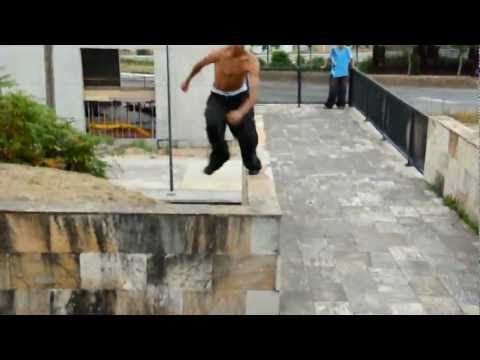 Swim or sink. Parkour.