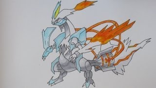 How To Draw Pokemon: No.646 White Kyurem
