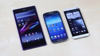 Sony Xperia Z Ultra vs Samsung Galaxy S4 vs HTC One karşılaştırma