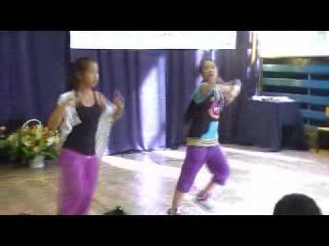 Nhảy Hip - Hop - 2 cháu gái của trường