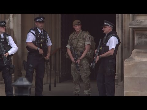 Army on UK streets as police investigate 'network'