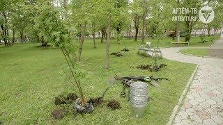 Озеленение Артёма продолжается!