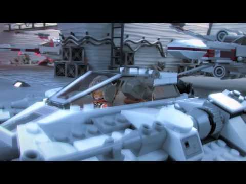 Lego Star Wars - Snowspeeder vs. AT-AT