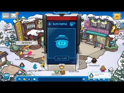 Club Penguin: How to get an Elite Puffle