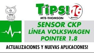 TIPS 16 – Sensor CKP Línea Volkswagen Pointer 1.8
