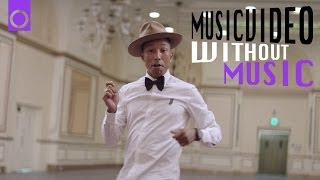 No Music Musicvideo: Happy by Pharrell Williams