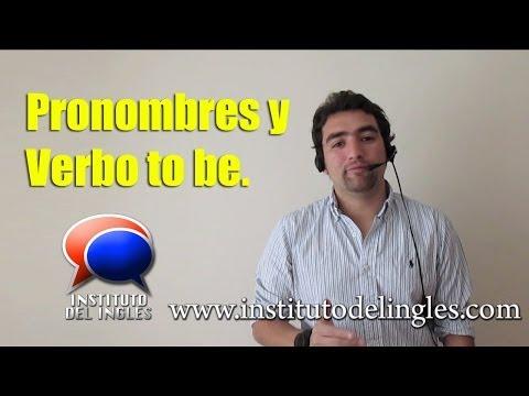 Curso de inglés - Pronombres y verbo to be (ESL)