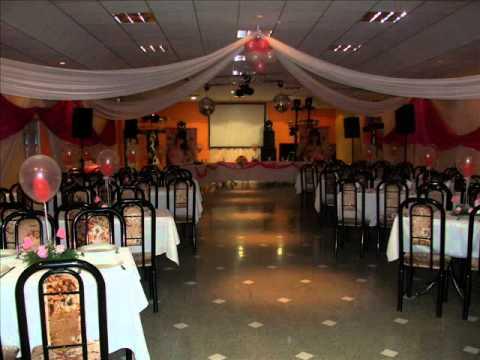 Decoracion de salones para fiestas y eventos youtube - Visillos para salones ...