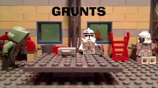 LEGO Clone Wars Grunts Pilot Episode