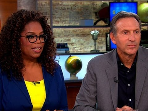 Oprah and Howard Schultz on Donald Sterling's purported racist comments