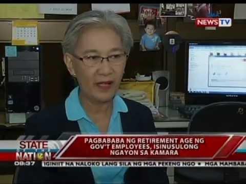 SONA: Pagbaba ng retirement age ng government employees, isinusulong