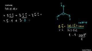 Skalarni produkt – primer 1